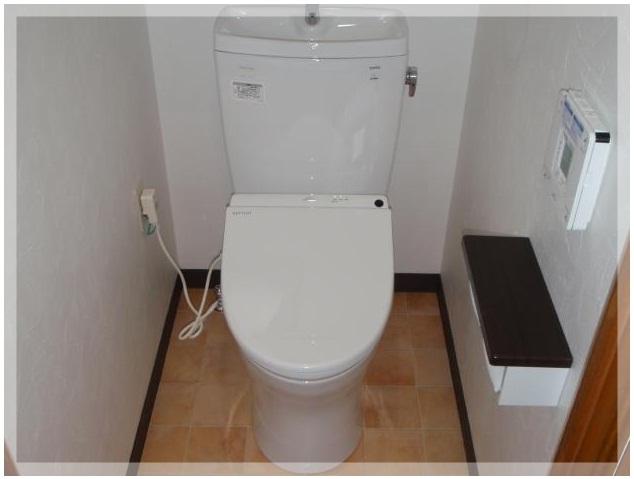 秦野 タムラ マンショントイレ(ピュアレストQR+アプリコット)